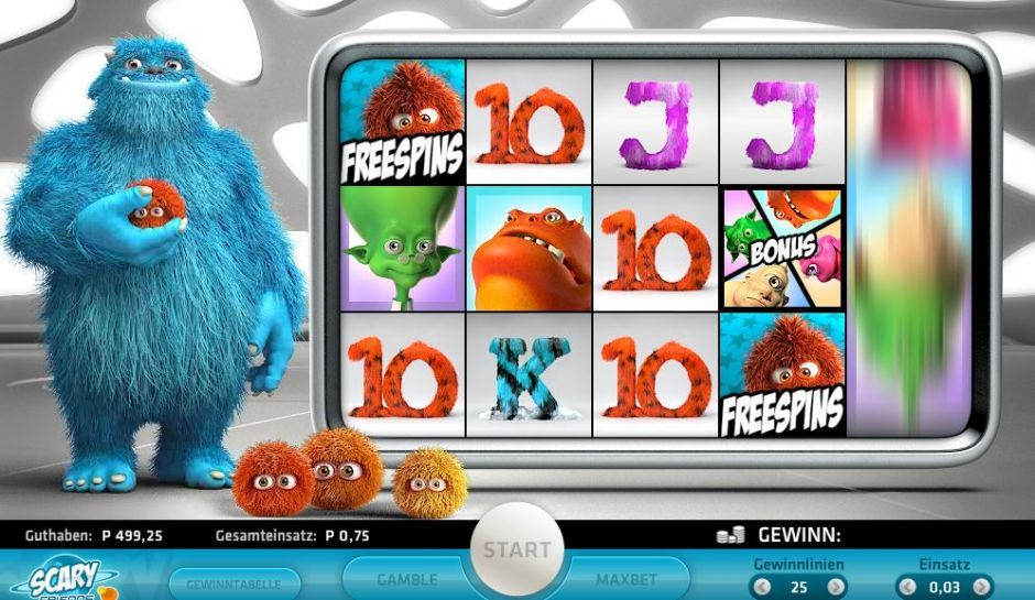 scary friends slot machine free spins