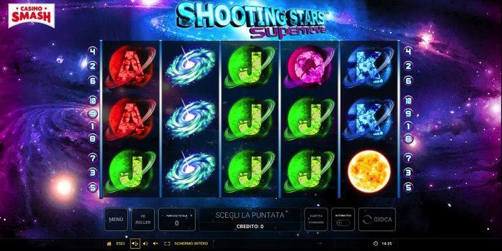 Shooting Stars Supernova è una delle migliori nuove video Slot di Novoline