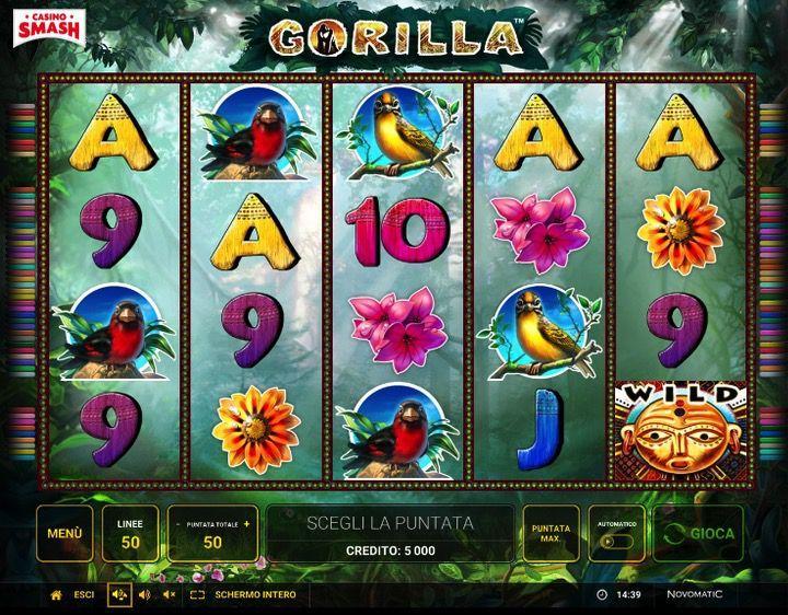Gorilla Slot Novomatic