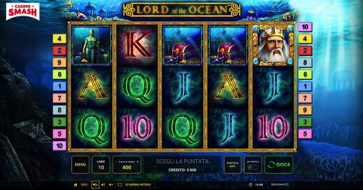 Gioca alla Slot Lord of the Ocean Grats