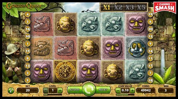 online slot uk: gonzo's quest