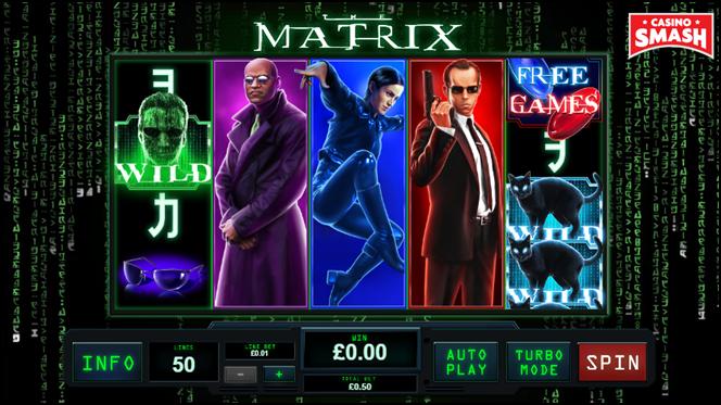 tv film-inspired slot: matrix