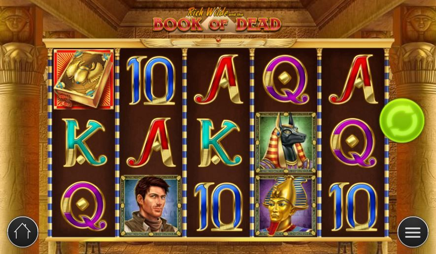 book of dead slot free spins