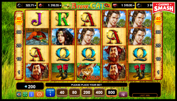 Free EGT Slots: Brave Cat