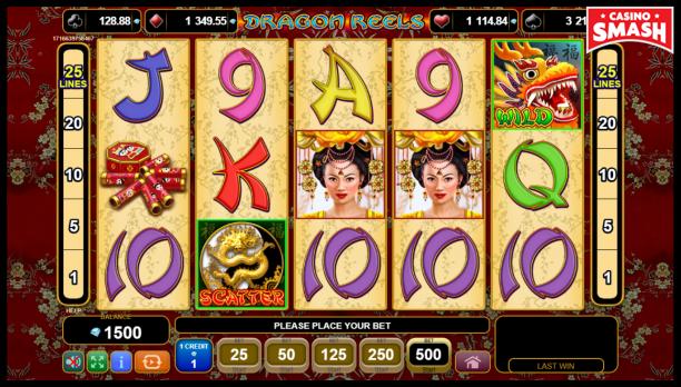 Free EGT Slots: Dragons Reels