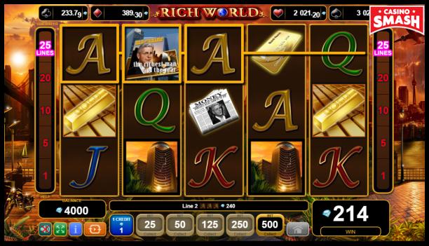 Free EGT Slots: Rich World
