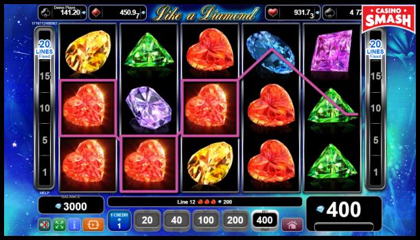 Free EGT Slots: Like a Diamond