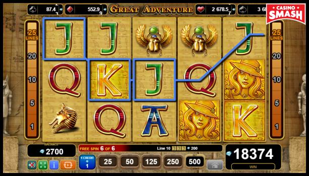 Free EGT Slots: Great Adventure