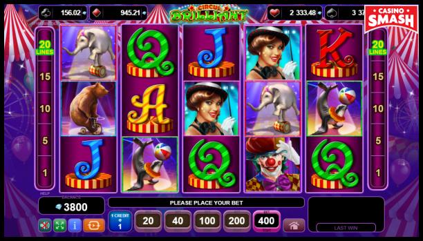 Free EGT Slots: Circus Brilliant