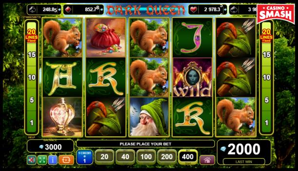 Free EGT Slots: Dark Queen