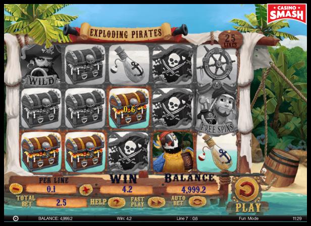 Pirate Slot Exploding Pirates
