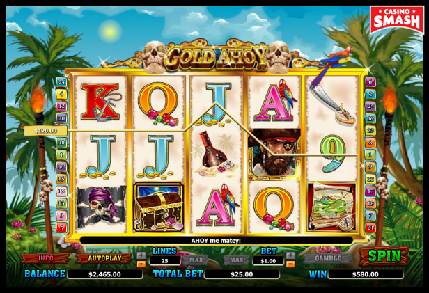 Pirate Slot Gold Ahoy