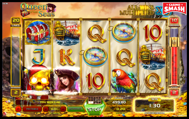 Pirate Slot Queen of the Seas