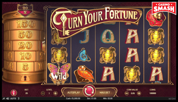 Turn Your Fortune Slot to play for real money