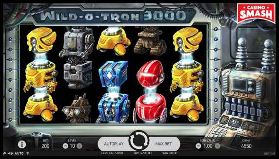 Wild-O-tron Slot to play for real money