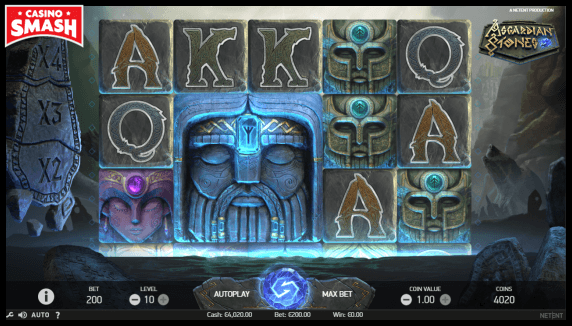 Asgardian Stones slot that pays real money