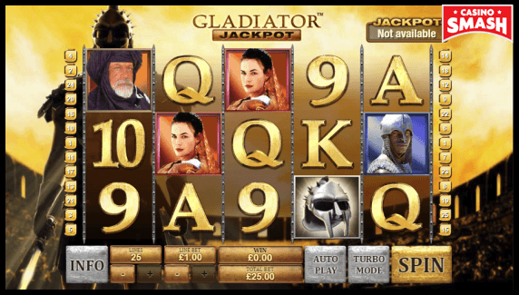 Gladiator jackpot slot that pays real money