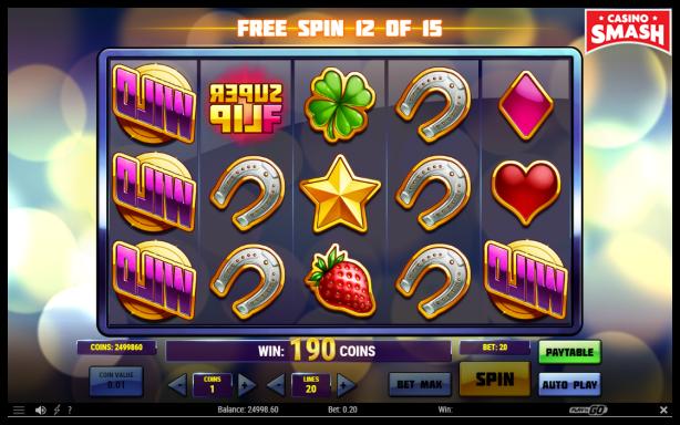 Super Flip Slot free spins mode