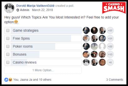 Casino Forum poll