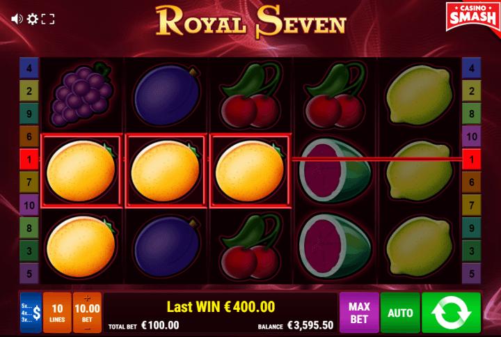 Royal Seven fruit Slot game