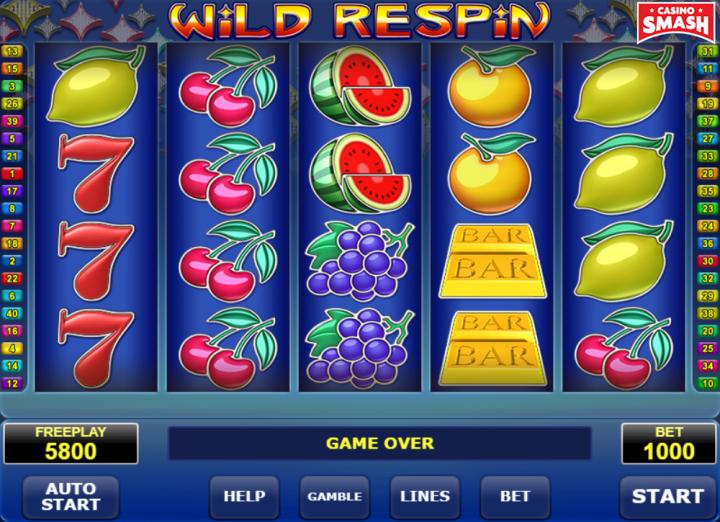 Wild Respin fruit slot