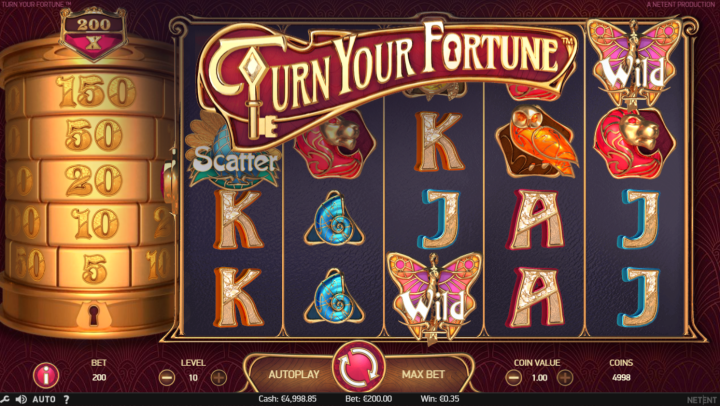 netent video slot turn your fortune