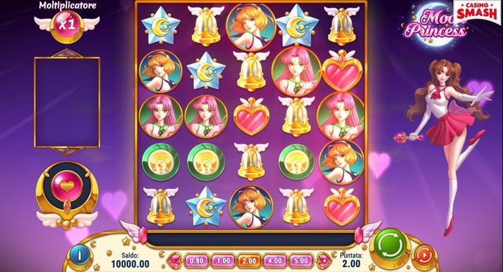 Moon Princess Slot Machine Gratis on line AAMS