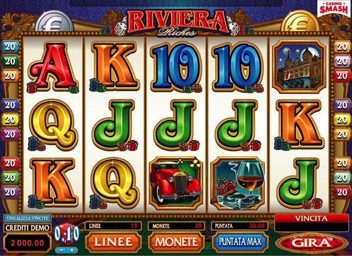 Riviera Riches Slot gioco online
