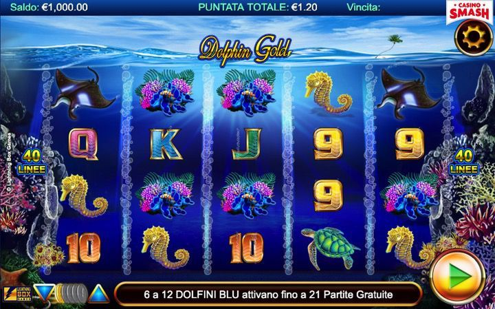 Dolphin Gold Slot Machine
