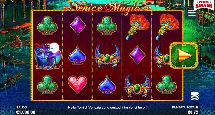 Slot Machine di Venezia: Venice Magic