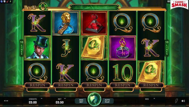Book of Oz Neue Spielautomaten