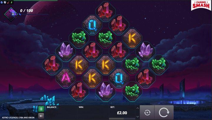 Astro Legends Online Slot