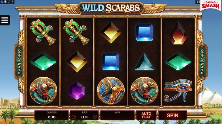 Wild Scarabs Spielautomaten online