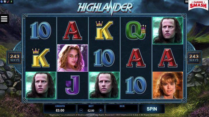 Highlander Slot 2019