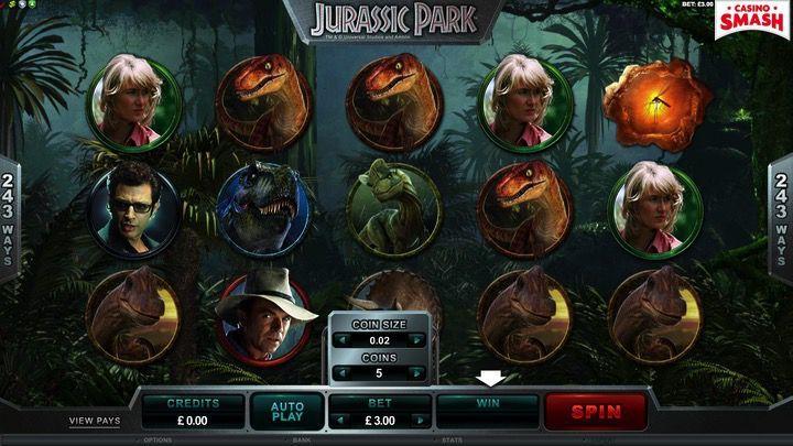 Jurassic Park Slot a soldi veri