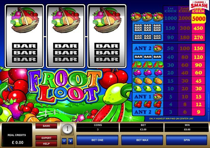 Attiva il bonus di free spins per Froot Loot