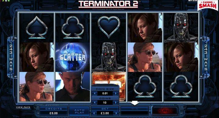 Terminator II a soldi veri è una bellissima slot da giocare on line gratis