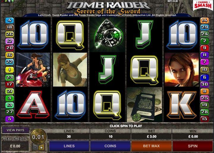 Gioca a soldi veri alla Slot di Tomb Raider online Gratis