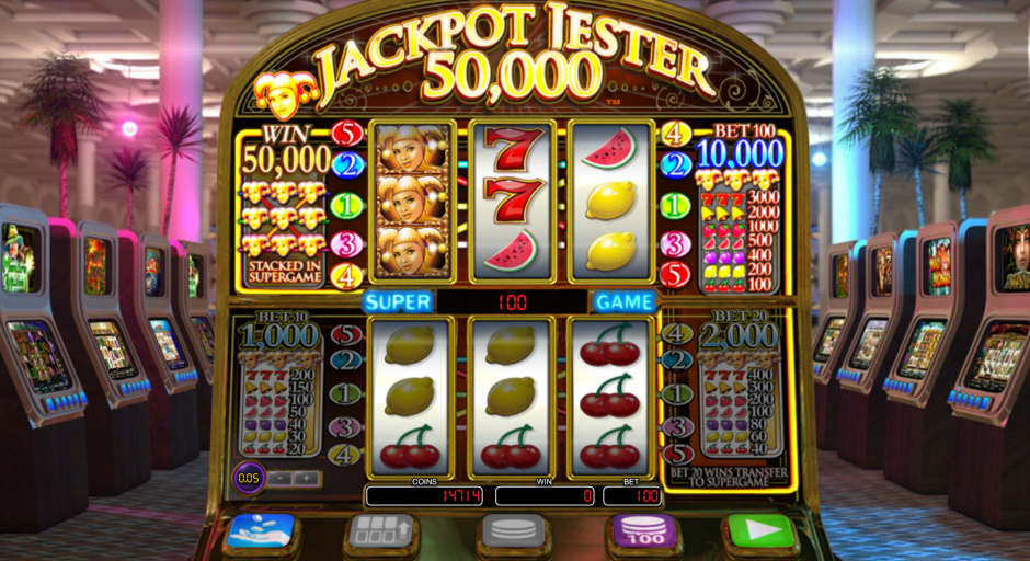 jackpot jester 50000 slots online free review