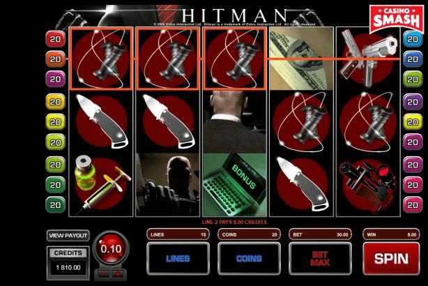 hitman slots game