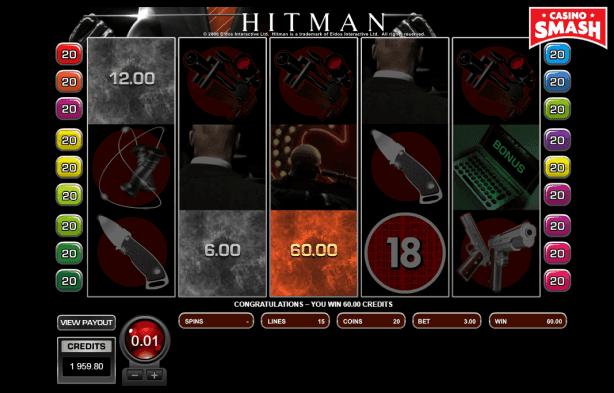 hitman slot insignia bonus