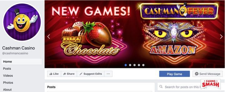 Cashman Casino Includes Free Coins