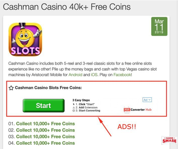 Cashman Casino Free Coins Generator: Get Free Coins Now!