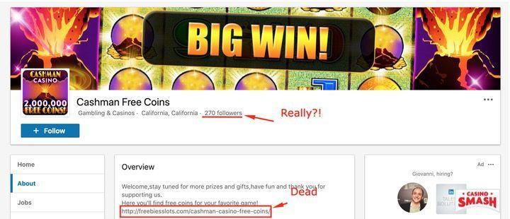 Casino Slots Free Coins: Daily Reward on LinkedIn