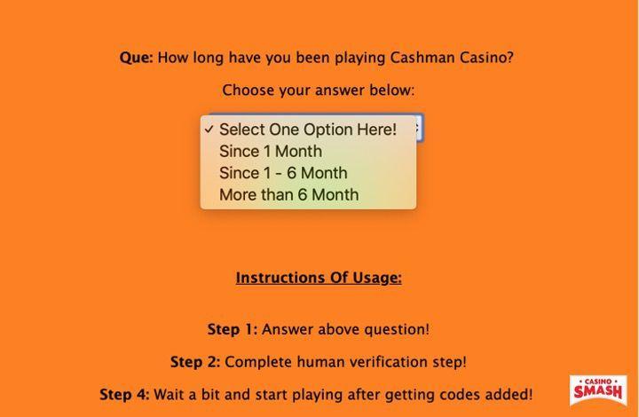 Cashman Casino Unlimited Free Coins Generator