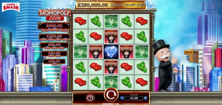 Monopoly 250k Bally Slots