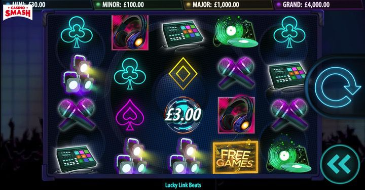 Free spins on Lucky Link Beats Slot machine