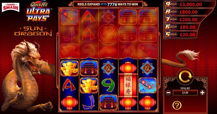 Sun Dragon Slot Machine