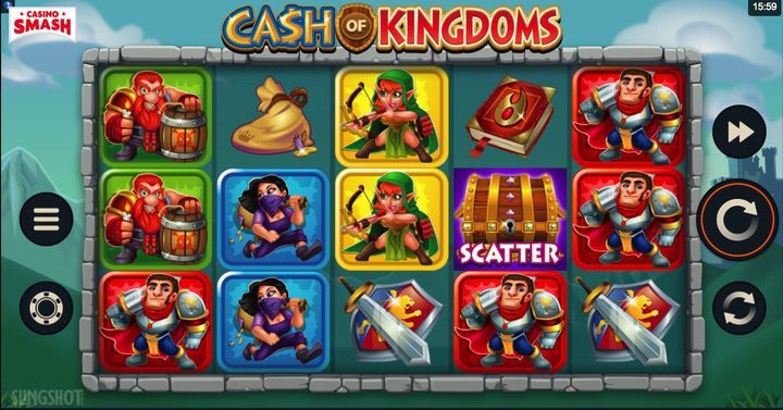 Cas hof Kingdoms Slot Machine