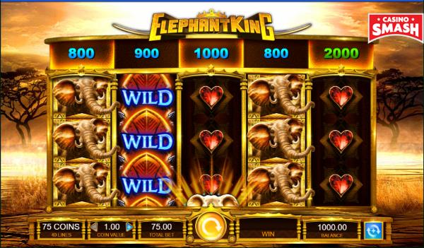 La slot dell'elefante con soldi